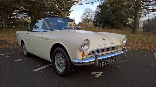 1960 Sunbeam Alpine Series 1 For Sale (picture 1 of 6)