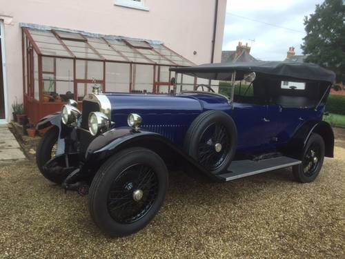 1924 Sunbeam 20/60 Tourer for sale in Hampshire... SOLD (picture 1 of 6)