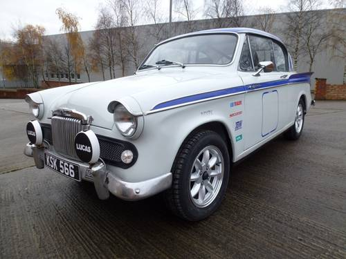 1957 Rare Sunbeam Rapier Series 2 Rally Car SOLD (picture 1 of 6)