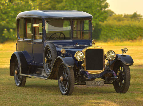1921 Sunbeam 24hp 4.5 Litre Saloon For Sale (picture 1 of 6)
