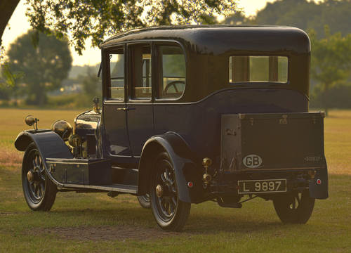1921 Sunbeam 24hp 4.5 Litre Saloon For Sale (picture 2 of 6)