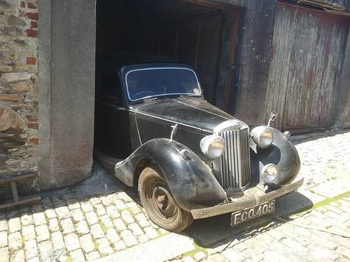 1948 Sunbeam Talbot 10 Sports Saloon.Dry Stored 55 yrs SOLD (picture 1 of 6)