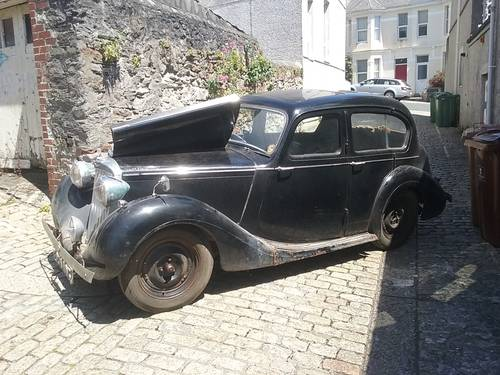 1948 Sunbeam Talbot 10 Sports Saloon.Dry Stored 55 yrs SOLD (picture 2 of 6)