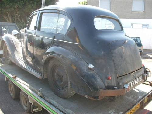 1948 Sunbeam Talbot 10 Sports Saloon.Dry Stored 55 yrs SOLD (picture 5 of 6)