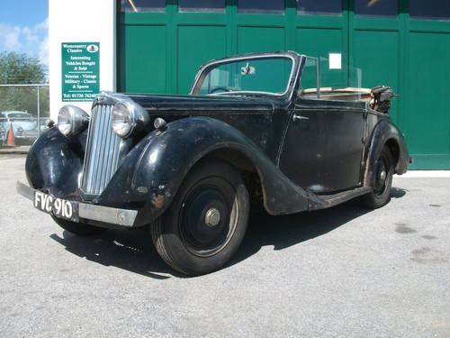 1947 Sunbeam Talbot 10 DHC SOLD (picture 1 of 6)