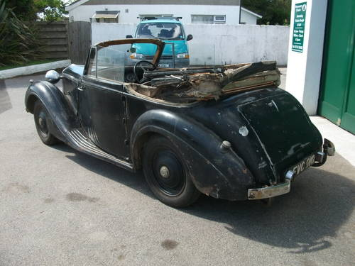1947 Sunbeam Talbot 10 DHC SOLD (picture 3 of 6)