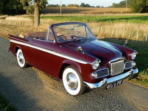 1963 Sunbeam Rapier 3A Convertible Rootes Group For Sale (picture 1 of 6)