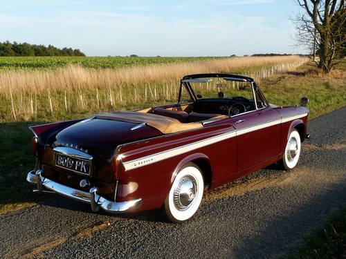 1963 Sunbeam Rapier 3A Convertible Rootes Group For Sale (picture 2 of 6)
