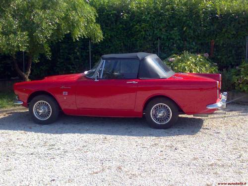 1967 Sunbeam Alpine series V 1968 For Sale (picture 2 of 6)