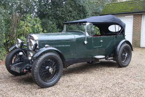 1933 Sunbeam Speed 20 Fast Tourer SOLD Car And Classic