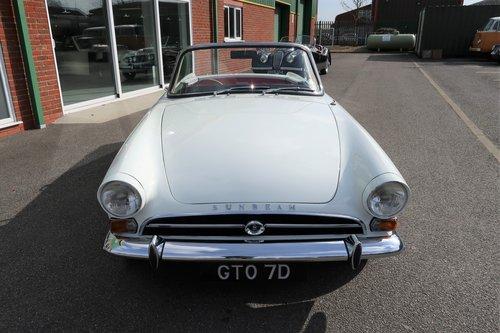 Rare 1966 Sunbeam Tiger Mk1 260 V8  SOLD (picture 4 of 6)