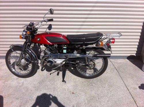 1969 Suzuki T125 Stinger For Sale (picture 1 of 6)