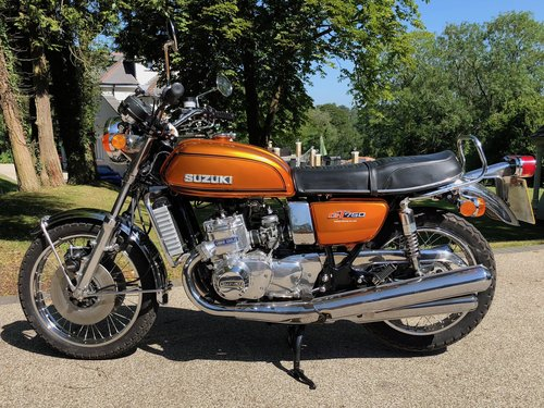 1974 GT750L Superb For Sale (picture 1 of 6)