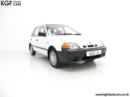 1997 A Charming Suzuki Swift 1.0GL, One Owner, 9,427 Miles SOLD (picture 1 of 6)