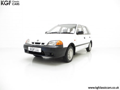 1997 A Charming Suzuki Swift 1.0GL, One Owner, 9,427 Miles SOLD (picture 2 of 6)
