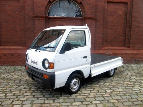 1995 SUZUKI CARRY PICK UP * ONLY 17401 MILES 4 WHEEL DRIVE 4X4 For Sale (picture 1 of 6)