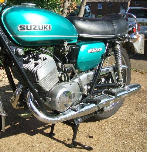 Suzuki T250 Hustler Classic Roadster 1971 9,250 Miles For Sale (picture 3 of 6)