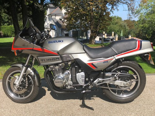 1983 XN85 Turbo Nut and Bolt restoration For Sale (picture 1 of 6)