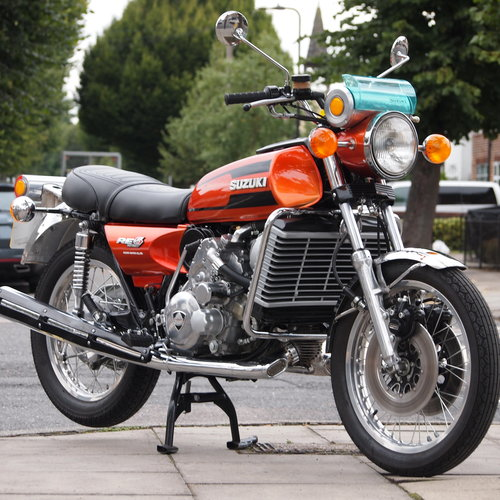 1976 Suzuki RE5 Rotary, RESERVED FOR OLIVER T. SOLD (picture 1 of 6)