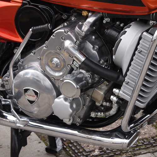 1976 Suzuki RE5 Rotary, RESERVED FOR OLIVER T. SOLD (picture 4 of 6)