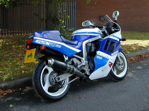 1989 SUZUKI GSXR 1100 - EXCEPTIONAL! For Sale (picture 3 of 6)