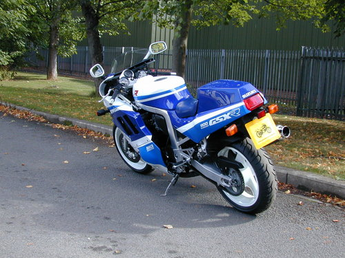 1989 SUZUKI GSXR 1100 - EXCEPTIONAL! For Sale (picture 4 of 6)