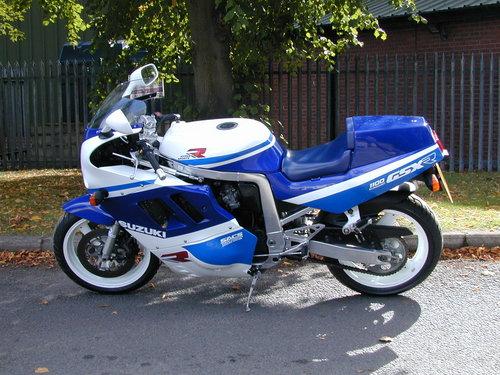 1989 SUZUKI GSXR 1100 - EXCEPTIONAL! For Sale (picture 5 of 6)