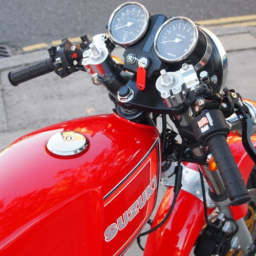 1978 Suzuki X7 250 Cafe Racer, With Great Sounding Spannys. SOLD (picture 3 of 6)