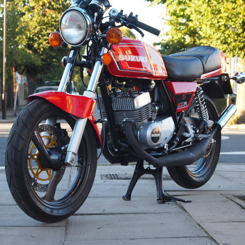 1978 Suzuki X7 250 Cafe Racer, With Great Sounding Spannys. SOLD (picture 4 of 6)