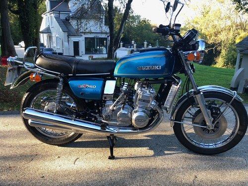 1976 GT750A Superb restored and rebuilt UK bike. SOLD (picture 1 of 6)