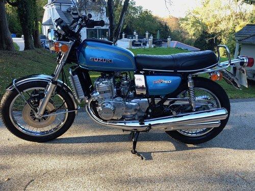 1976 GT750A Superb restored and rebuilt UK bike. SOLD (picture 2 of 6)