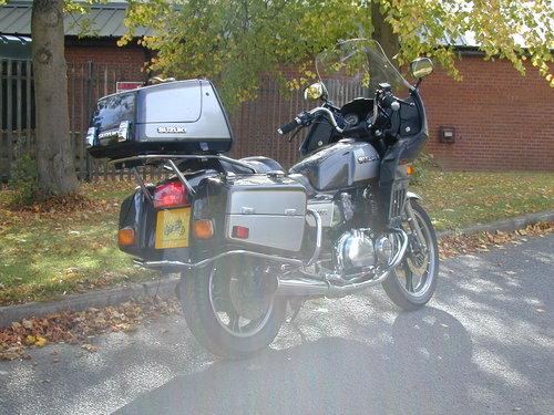 1984 SUZUKI GS 1100 GK - LOW MILES - HIGH SPEC! For Sale (picture 3 of 6)
