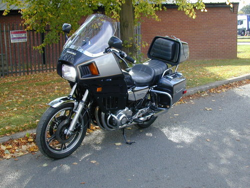1984 SUZUKI GS 1100 GK - LOW MILES - HIGH SPEC! For Sale (picture 4 of 6)