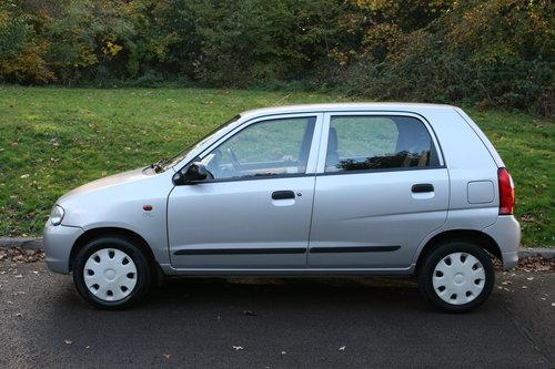 Suzuki Alto 1.1 GL.. Very Low Miles & FSH.. 5 Door Hatchback SOLD (picture 1 of 6)