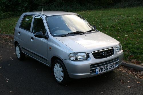 Suzuki Alto 1.1 GL.. Very Low Miles & FSH.. 5 Door Hatchback SOLD (picture 2 of 6)