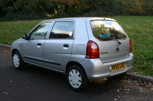 Suzuki Alto 1.1 GL.. Very Low Miles & FSH.. 5 Door Hatchback SOLD (picture 5 of 6)