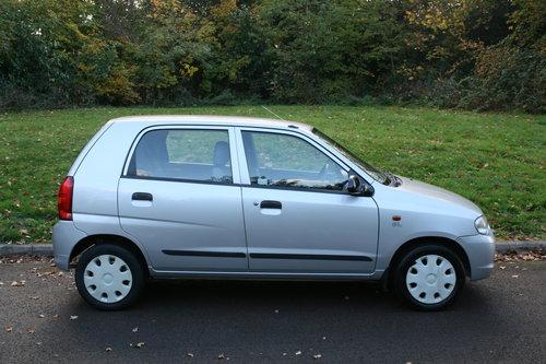 Suzuki Alto 1.1 GL.. Very Low Miles & FSH.. 5 Door Hatchback SOLD (picture 6 of 6)