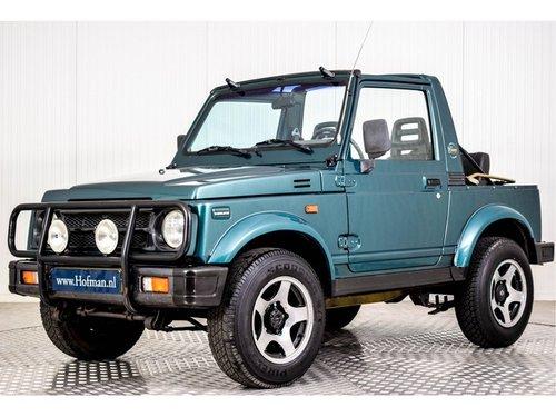 1997 Suzuki Samurai 4x4 1.3 Cabrio softtop For Sale (picture 1 of 6)