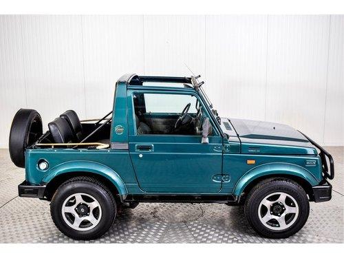 1997 Suzuki Samurai 4x4 1.3 Cabrio softtop For Sale (picture 3 of 6)