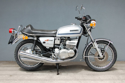 1973 Suzuki GT380 Original 12.183 KM Survivor For Sale (picture 2 of 6)