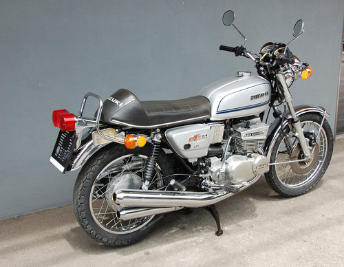 1973 Suzuki GT380 Original 12.183 KM Survivor For Sale (picture 4 of 6)