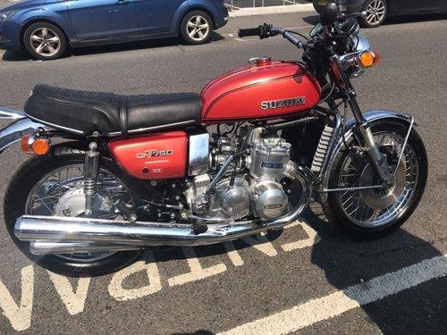 SALE!! SALE!! Suzuki GT750 1974 totally rebuilt! For Sale (picture 1 of 6)
