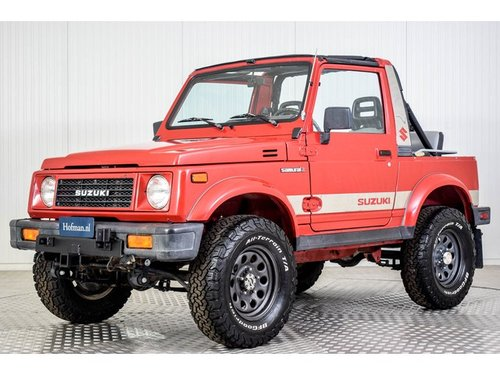 1990 Suzuki Samurai 4x4 1.3 EFI JL Convertible For Sale (picture 1 of 6)