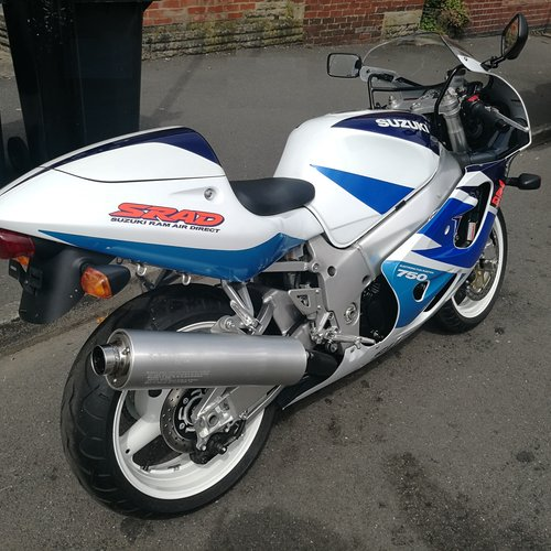 1998 Suzuki GSXR 750 SRAD - zero mile bike  For Sale (picture 2 of 6)
