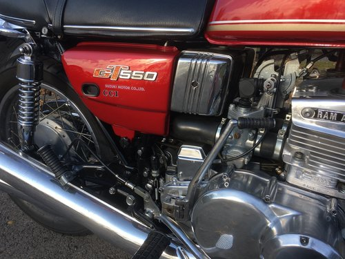 1977 SUZUKI GT550 A For Sale (picture 3 of 6)