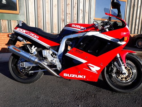 1990 Restored Suzuki GSX-R 1100L For Sale (picture 1 of 6)