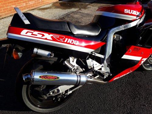 1990 Restored Suzuki GSX-R 1100L For Sale (picture 5 of 6)