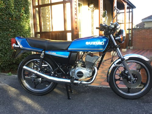 1979 SUZUKI X5, NUT AND BOLT RESTORATION, REDUCED!! For Sale (picture 1 of 6)