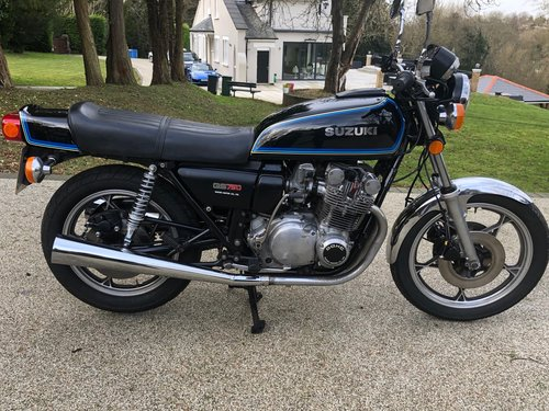 1978 Suzuki GS750E UK bike For Sale (picture 1 of 6)