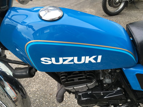 1978 SUZUKI TS125 FULLY RETORED POSSIBLE SHOW WINNER For Sale (picture 2 of 6)